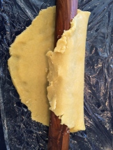 Use your rolling pin to pick up the crust and transfer it with ease photo - Karen Anderson