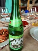 Sidra or hard apple cider is a regional Basque favourite - photo - Karen Anderson