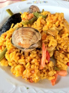 paella on my plate photo - Karen Anderson
