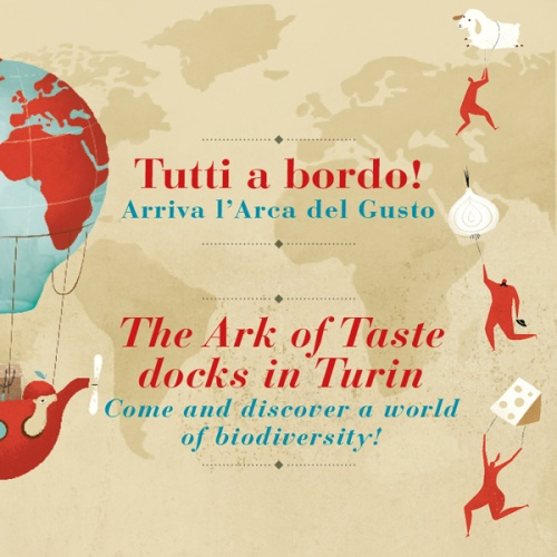 Terra Madre poster - courtesy of Slow Food HQ press photo gallery
