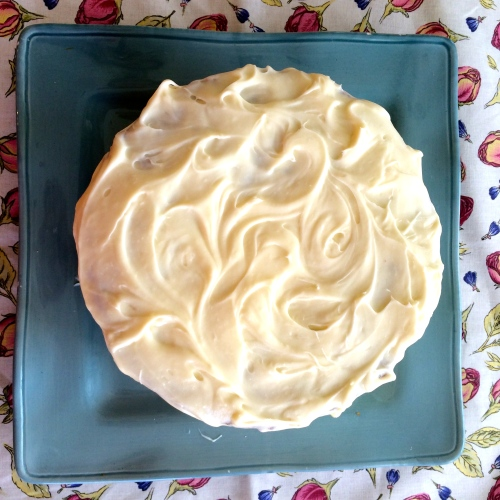 Definitely homemade - Aunt Muriel's Farmhouse Carrot Cake - photo - Karen Anderson