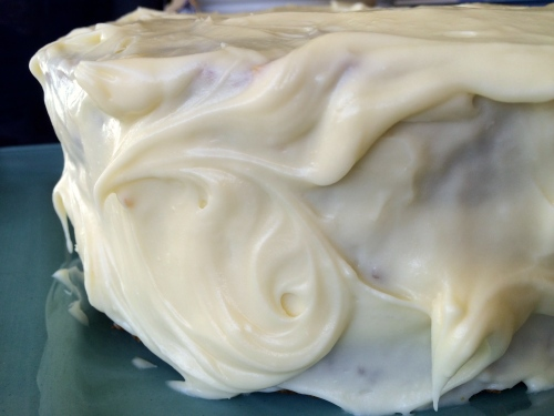 Cream cheese icing - photo - Karen Anderson