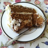 Heartland Cafe's Carrot Cake - photo by Karen Anderson of Savour it All blog