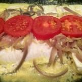 Fish Molee - cooked in banana leaf- photo - Karen Anderson