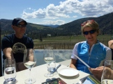 lunch with Ian MacDonald owner of Liquidity - photo - Karen Anderson