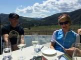 lunch with Ian MacDonald owner of Liquidity - photo - Karen Anderson