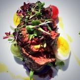 steak at Liquidity Bistro - photo - Karen Anderson