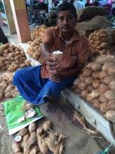 coconut offering - photo - Karen Anderson