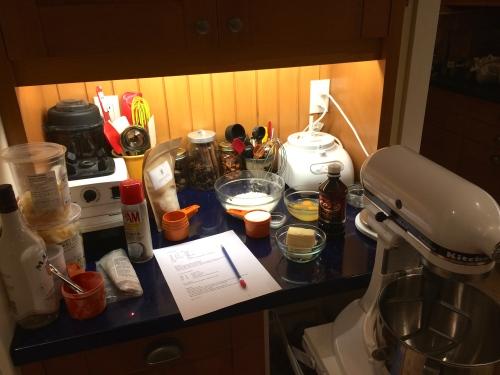 Ready to recipe test - photo - Karen Anderson