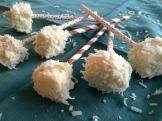 My cake-pop cum coconut cubes - photo Karen Anderson