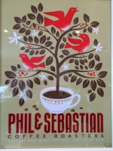 Vintage Phil and Sebastian poster - photo - Karen Anderson