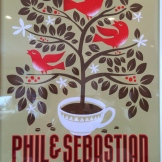 Vintage Phil and Sebastian poster - photo - Karen Anderson