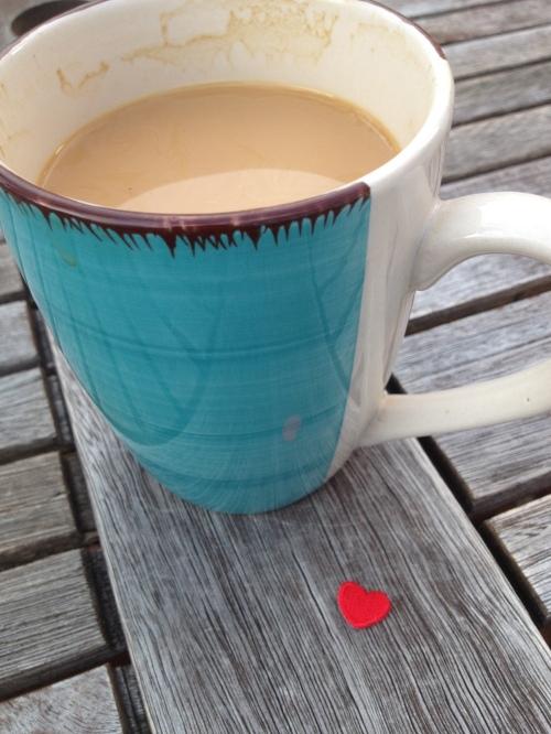 creamy coffee of my past - photo - Karen Anderson