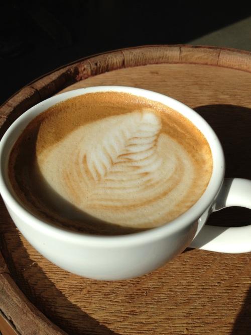 more latte art - photo - Karen Anderson