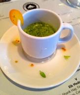stinging nettle, mint and orange smoothie - photo - Karen Anderson