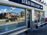 Luke's Drug Mart, Post Office and Grocer (plus coffee shop, record store, stationary, clother...) - photo - Karen Anderson