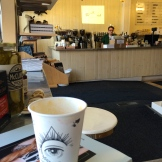 coffee and good tunes after a little shopping - photo - Karen Anderson