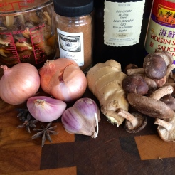 fennel bulbs at the corner grocer got me thinking anise and then I gathered all these goodies - photo - Karen Anderson
