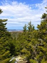 View to Ste. Croix Island, New Brunswick - photo - Karen Anderson
