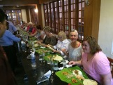 Banana leaf Thali at The Golden Plate - photo - Karen Anderson