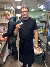 Brad Lazarenko of Culina family restaurants - photo - Karen Anderson
