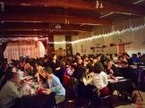 The cozy setting of the Culina family Restaurant's Ukrainian feast - photo - Karen Anderson