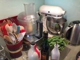 a well-equipped kitchen takes a while to build but makes cooking easier for sure - photo - Karen Anderson