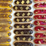 more eclairs - photo Karen Anderson
