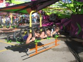 there's always an exciting new ride for the kids - photo - Karen Anderson