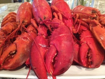 lobster is nice for Canada Day - photo - Karen Anderson