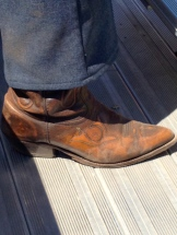 Stampede footwear - photo - Karen Anderson