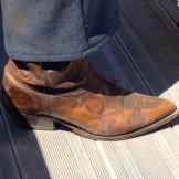 Stampede footwear - photo - Karen Anderson