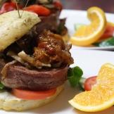 burgers always work - photo - Karen Anderson