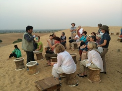 chai on the dunes in Rajasthan - photo - Karen Anderson