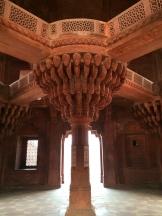 Akbar's pulpit - near Agra - photo - Karen Anderson