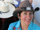 Hat by Alberta country music star Terri Clark - photo - Karen Anderson