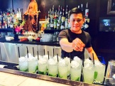 "Bartender Urban and his ""El Mojito"" at Ox and Angela, Calgary - photo - Karen Anderson"