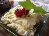 goat ricotta - photo - Karen Anderson