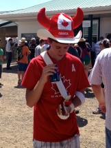 Alberta meets Canada Day - photo - Karen Anderson