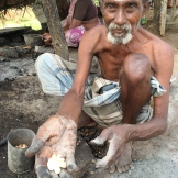 cashew roaster - photo - Karen Anderson