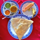 masala dosa breakfast in South India - @savouritall