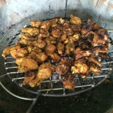 chicken barbecue - photo - Karen Anderson