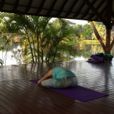 quiet yoga - photo - Karen Anderson