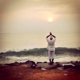 local's yoga in Pondicherry - photo - Pauli-Ann Carriere