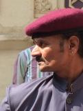 Udaipur city palace guard - photo - Karen Anderson