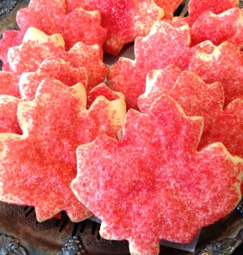 Canada Day cookies - photo - Karen Anderson