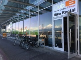 Awesome efficiency at Trevor Linden bikes - photo - Karen Anderson