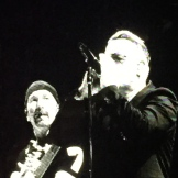 The Edge and Bono - photo - Karen Anderson