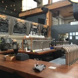 Vancouver Urban Winery with wine on tap - photo - Karen Anderson