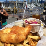 Lunch at Fish Co - photo - Karen Anderson